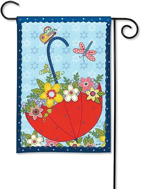 BreezeArt Fresh and Pretty Floral Garden Flag