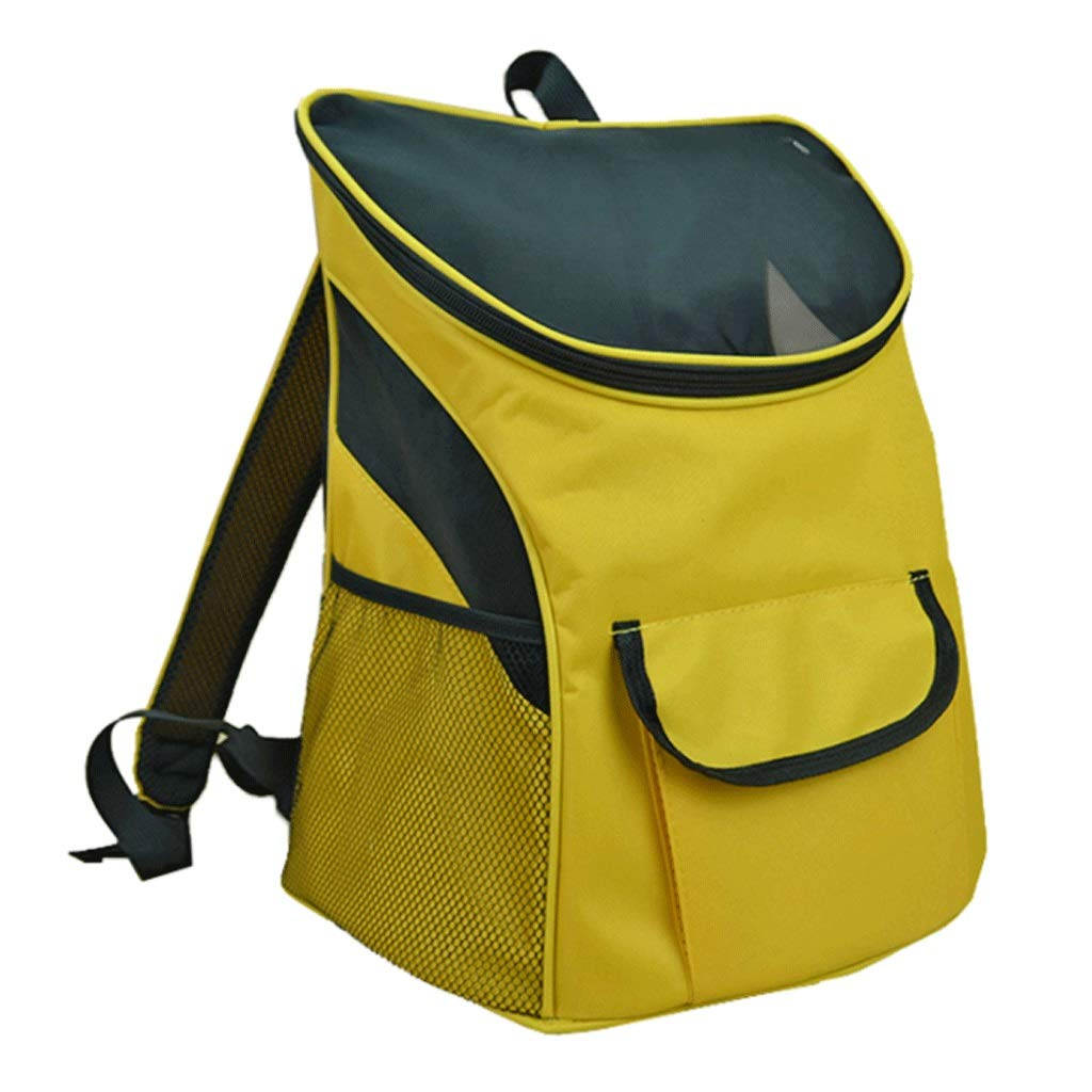 C Pet Backpack Portable Largecapacity Breathable Cat And Dog Universal Outdoor Travel Home Pet Backpack Builtin Hook (color   D)
