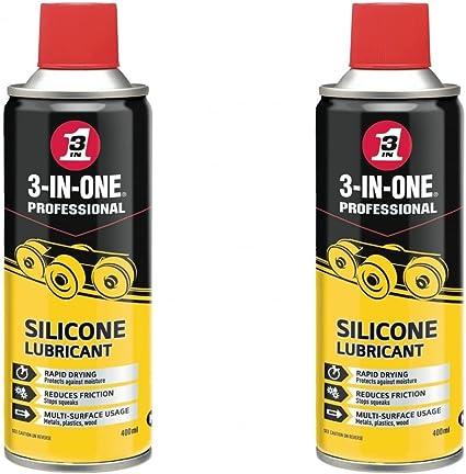 Spray lubricante de silicona, de la marca 3 In 1, para bicicletas ...