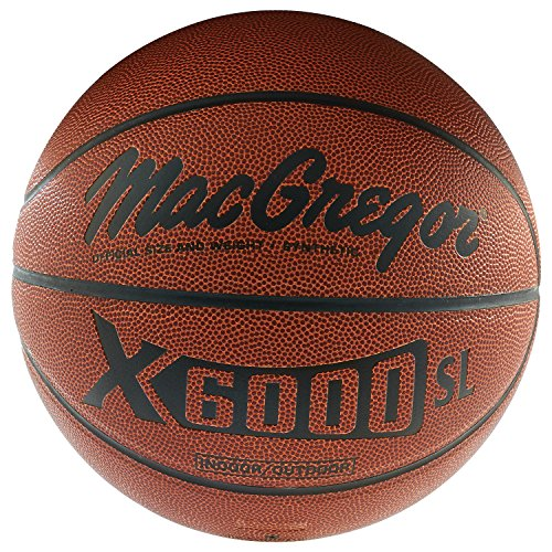 MacGregor X6000SL Official Basketball (Macgregor Leather)