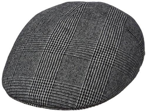 Kangol Men's Tweed Milano, Night Watch Plaid, Small