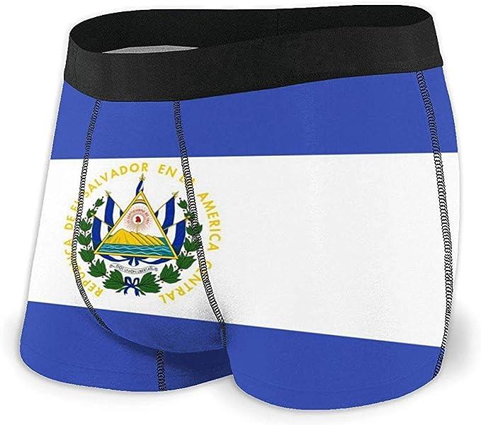 Web--ster Calzoncillos bóxer con Bandera de El Salvador Algodón ...