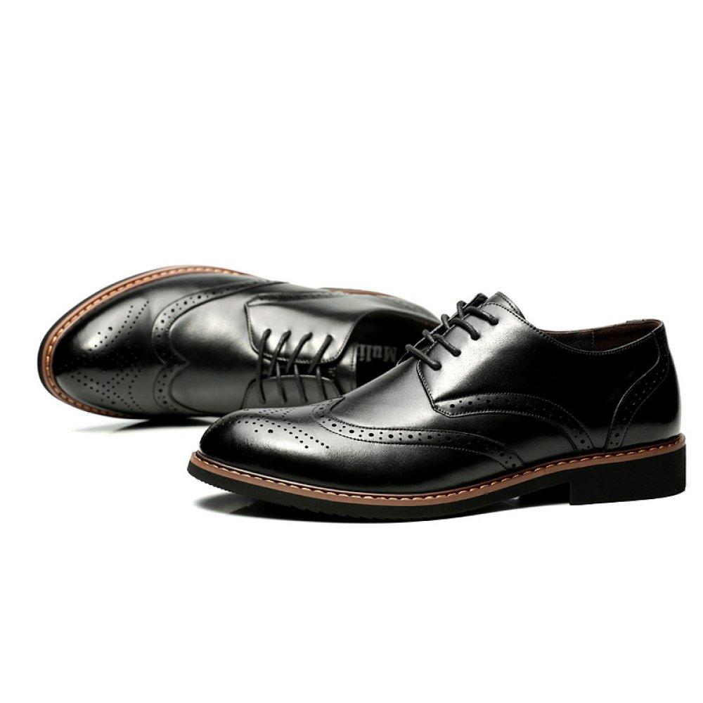 Homme Formelle Derby Printemps 19361 Lacets Classique Chaussures Entreprise  Chaussures Uniformes Cuir Véritable Bout Pointu Casual Oxford Mariage  Chaussures ... c23b622e3f75
