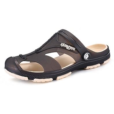 Kleidung & Accessoires Herrenschuhe Cool Croc Herren Damen Wasserschuhe Badeschuhe Hausschuhe Pantoffeln Sandalen De