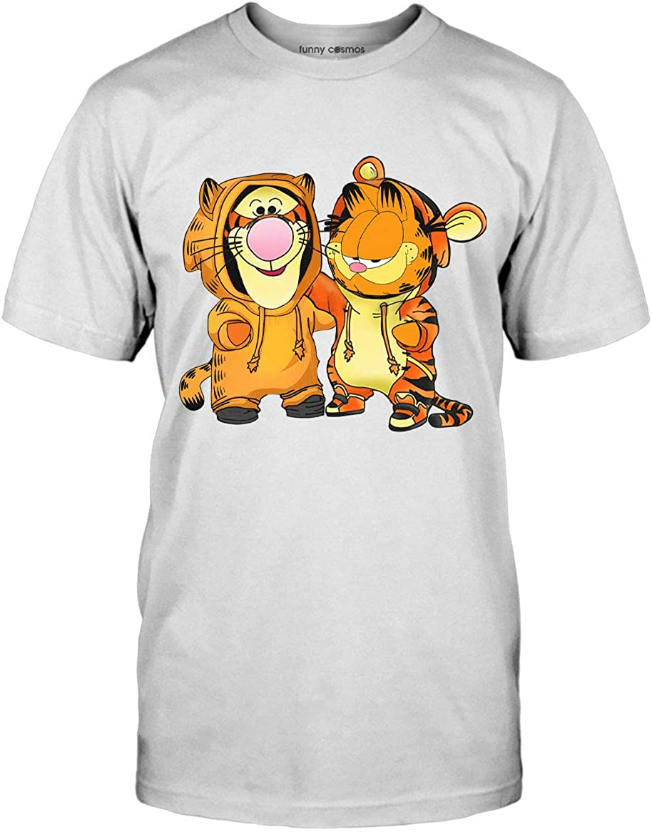 Amazon Com Garfield Lovers Shirt Tigger Lovers Gift Kids Halloween Costume Cartoon T Shirt Clothing