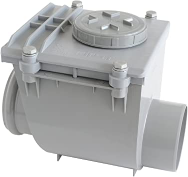 First plast nrc110g V/álvula antirretorno de PVC ad pegar Di/ámetro 110/Mm Gris
