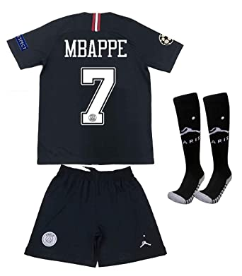70cc3d036 Amazon.com  Saint George ii PSG X  7 Mbappe 2018 2019 New Away ...