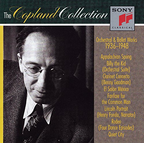The Copland Collection: Orchestral & Ballet Works, 1936-1948 by Sony Classical