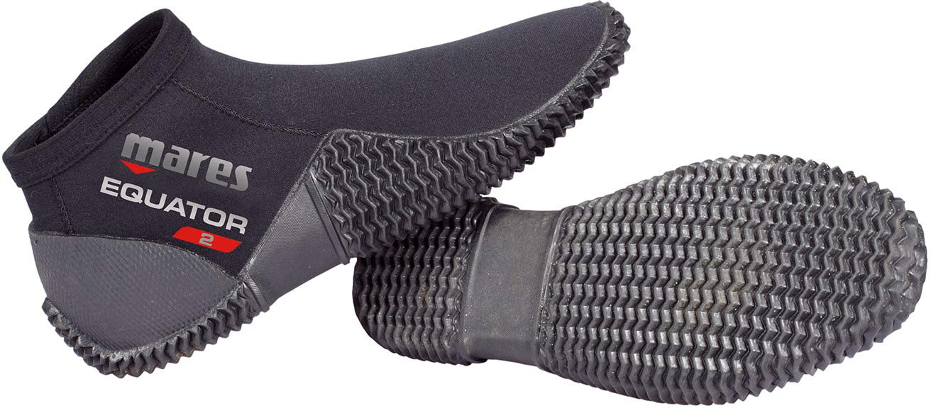 Mares Equator Boots Boots, Unisex Adult, Unisex-Adult, 412636, Black, 5 by Mares