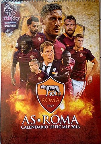 Calendario Asroma.Calendario As Roma 2016 Oficial Con Miniposter De Regalo