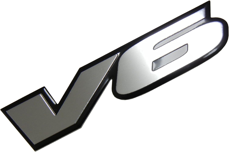 G/én/érique V6 Engine Badge Emblem for Dodge Stratus RT Charger Avenger RAM Magnum Dakota Nitro