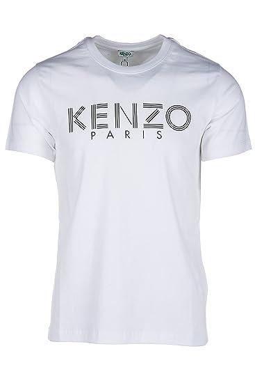 38962baf9 Kenzo White T-Shirt with Printed Logo, Size UK: Amazon.co.uk: Clothing