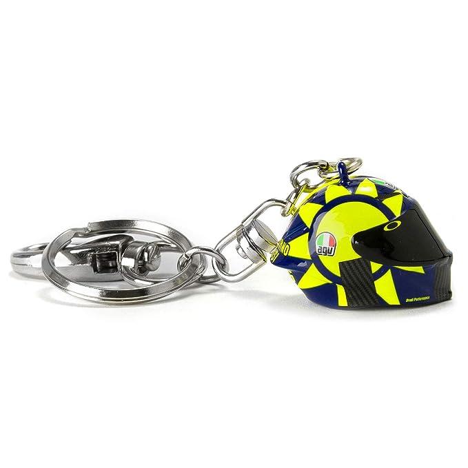 /The Doctor/ /Key Ring/ /Valentino Rossi/ /Portallaves Keychains llavero/ /Face/ /Multicolor/ /Goma/