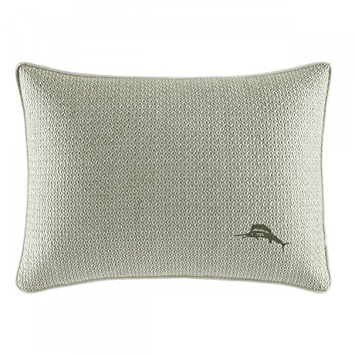 Tommy Bahama Cuba Cabana Green Breakfast Pillow, 12X16In