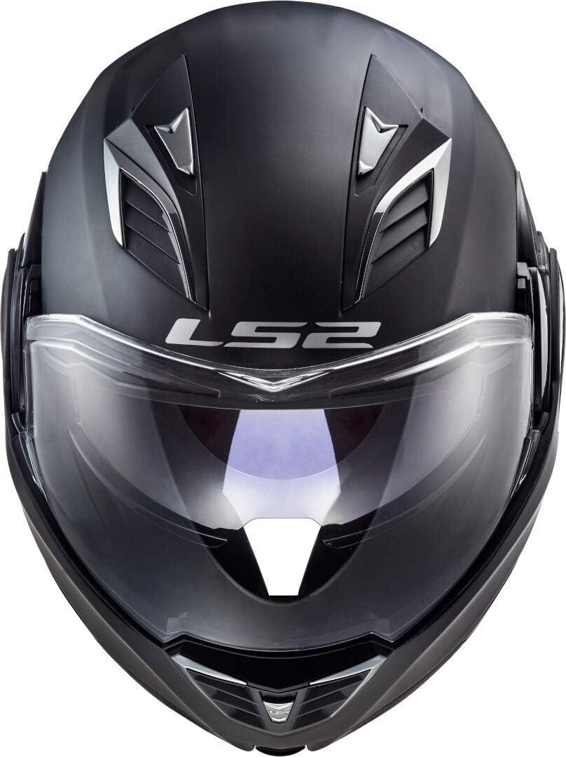LS2 FF900 Valiant II Solid Helm Schwarz Matt XXXL 65//66