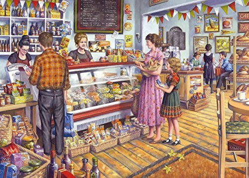 The Deli - Tony Ryan - 1000 Piece Jigsaw Puzzle by Gibsons