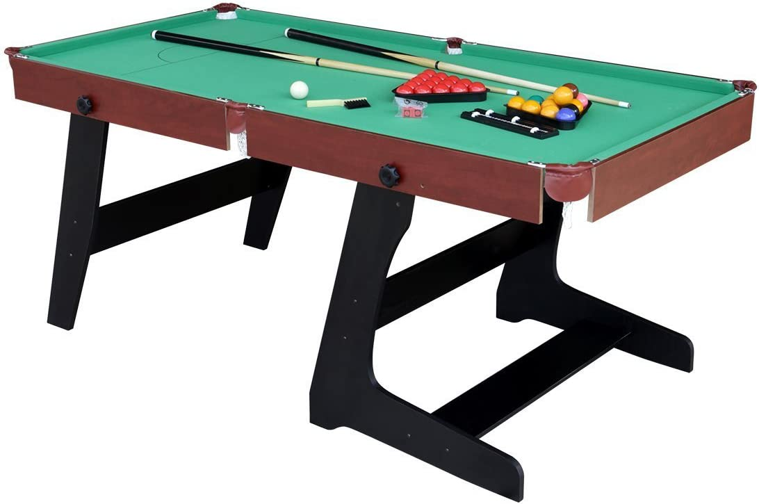 hlc-table de billar snooker plegable con accesorios 183 * 91 * 79 ...