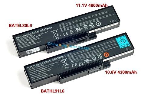 ARBUYSHOP celular japonés original Nueva batería del ordenador portátil para Dell Inspiron 1425 1426 1427 BATEL80L6