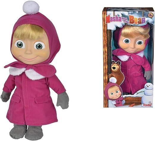 Amazon.es: Muñeca Masha de 40cm de Masha y el Oso (Simba 9301676 ...