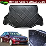 Car Boot Pad Cargo Mat Tray Trunk Liner Tray Floor Mat For Honda Accord 2013 2014 2015 2016