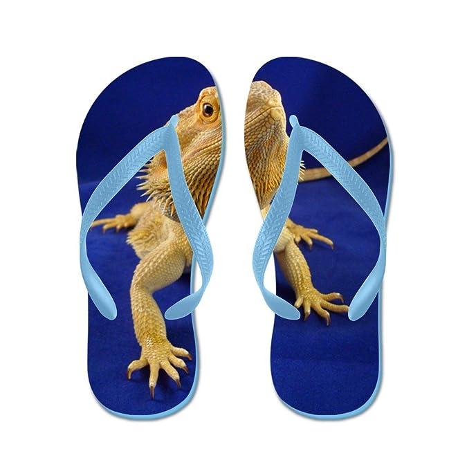 9029354abb7 Amazon.com | CafePress Bearded Dragon Beach Sandals | Flip-Flops