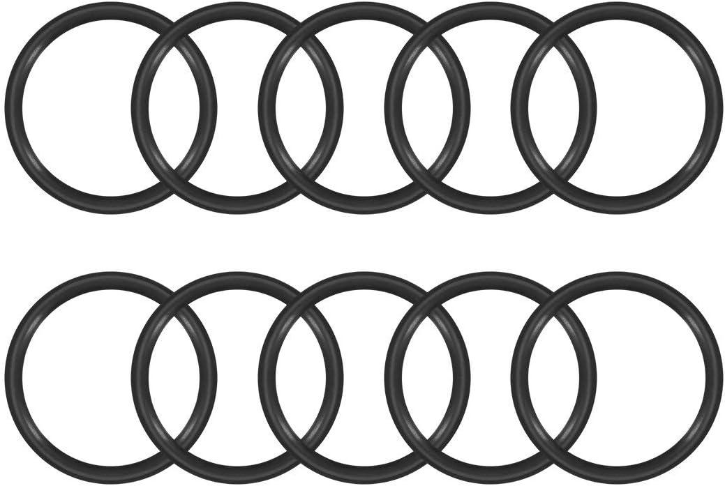 guarnizione rotonda diametro esterno: 39 mm confezione da 10 Guarnizione in gomma nitrilica larghezza 4 mm diametro interno: 31 mm