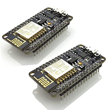 2pcs ESP8266 NodeMCU LUA CP2102 ESP-12E Internet WiFi Development Board  Open Source Serial Wireless Module Works Great with Arduino IDE/Micropython
