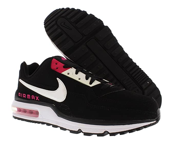 93cd6359e5df8 Nike Mens Air Max Ltd Running Shoes 407979-026 Sz 11 Black/White ...