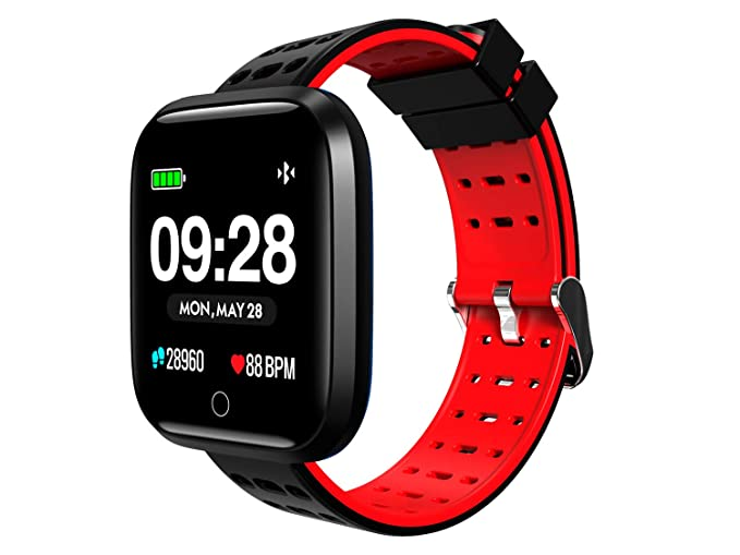 SUNNZO Bluetooth Smart Watch,Widely Compatible and Seamlessly Sync with  Android & iOS,Multiple Sports Modes& Data Tracking,HD Display,Message