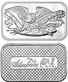 1 oz SilverTowne Retro Eagle Silver Bars