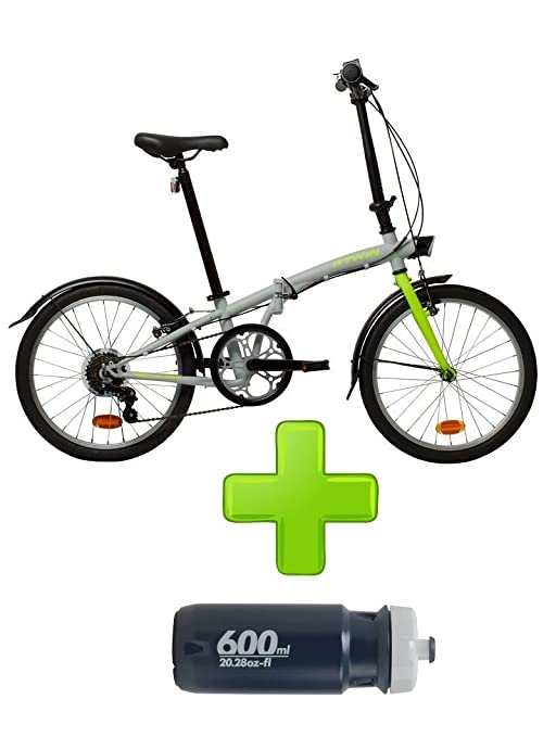 BTWIN Bicicleta Plegable Aluminio 2017 4 colores + REGALO ...