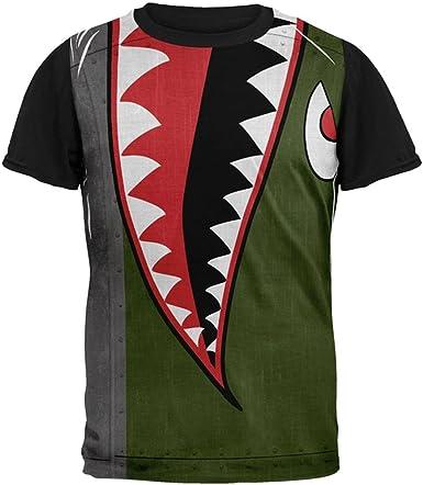 Shark Tee Fullprint Polyester Tshirt For Men