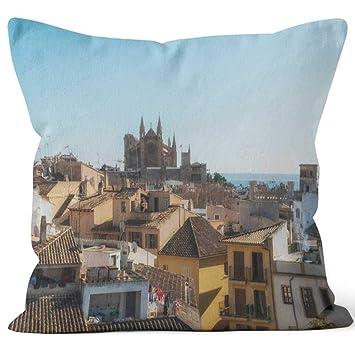 Amazon.com: Nine City Panoramic View of Palma de Mallorca ...