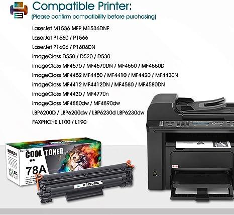 8//PK-3000 Page Yield NO. 78J - Generic CE278CJ8PK AIM Compatible Replacement for HP Laserjet P1566//P1606 Jumbo Toner Cartridge