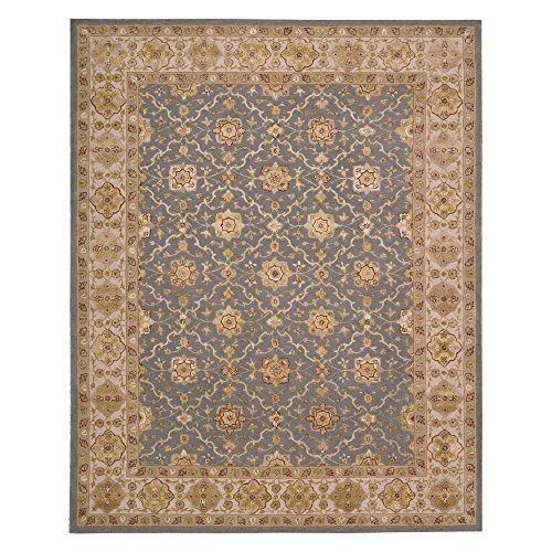 Nourison Nourison 3000 (3103) Aqua Rectangle Area Rug, 7-Feet 9-Inches