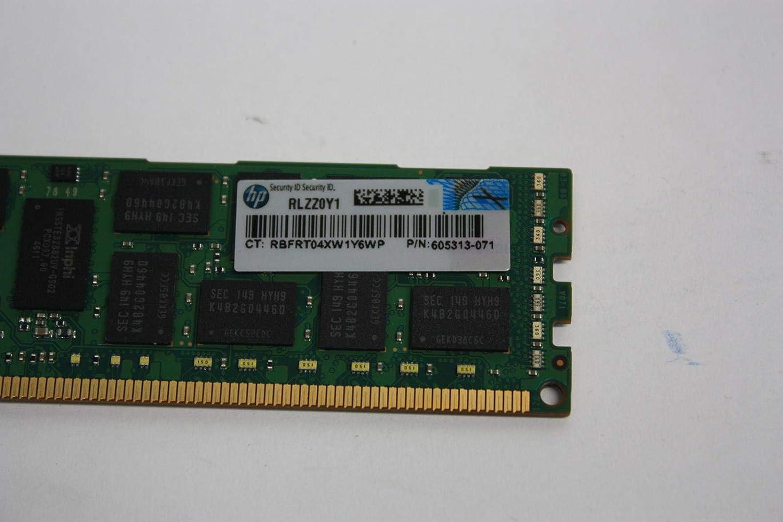 HP 605313-071 HP 8GB (1X8GB) 2RX4 PC3L-10600R Memory for G7