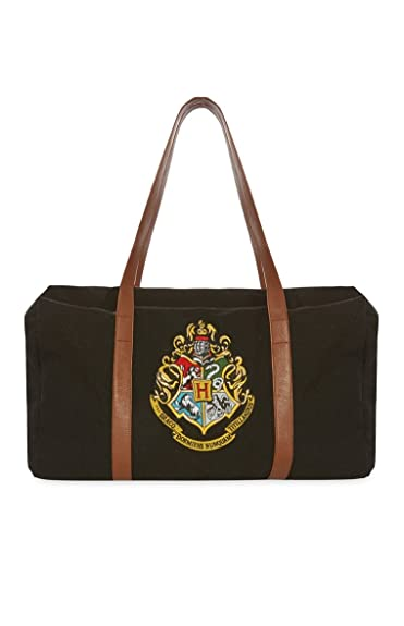 Image Unavailable. Image not available for. Colour  Primark Ladies girls  HARRY POTTER HOGWARTS WEEKEND BLACK MATERNITY SCHOOL BAG GYM ... ce70554b86368
