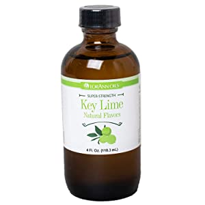 LorAnn Key Lime Super StrengthFlavor, 4 ounce bottle