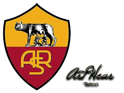 Tatuaje Temporal Equipe Club fútbol - Italia as roma - artwear ...