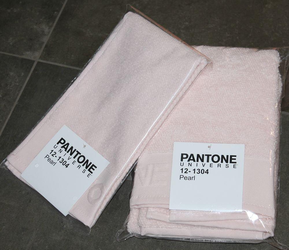 Bassetti - Toalla de baño Pantone de 50 x 100 cm, incluye toalla de invitados de 30 x 50 cm, tela de rizo de 540 g/m²: Amazon.es: Hogar