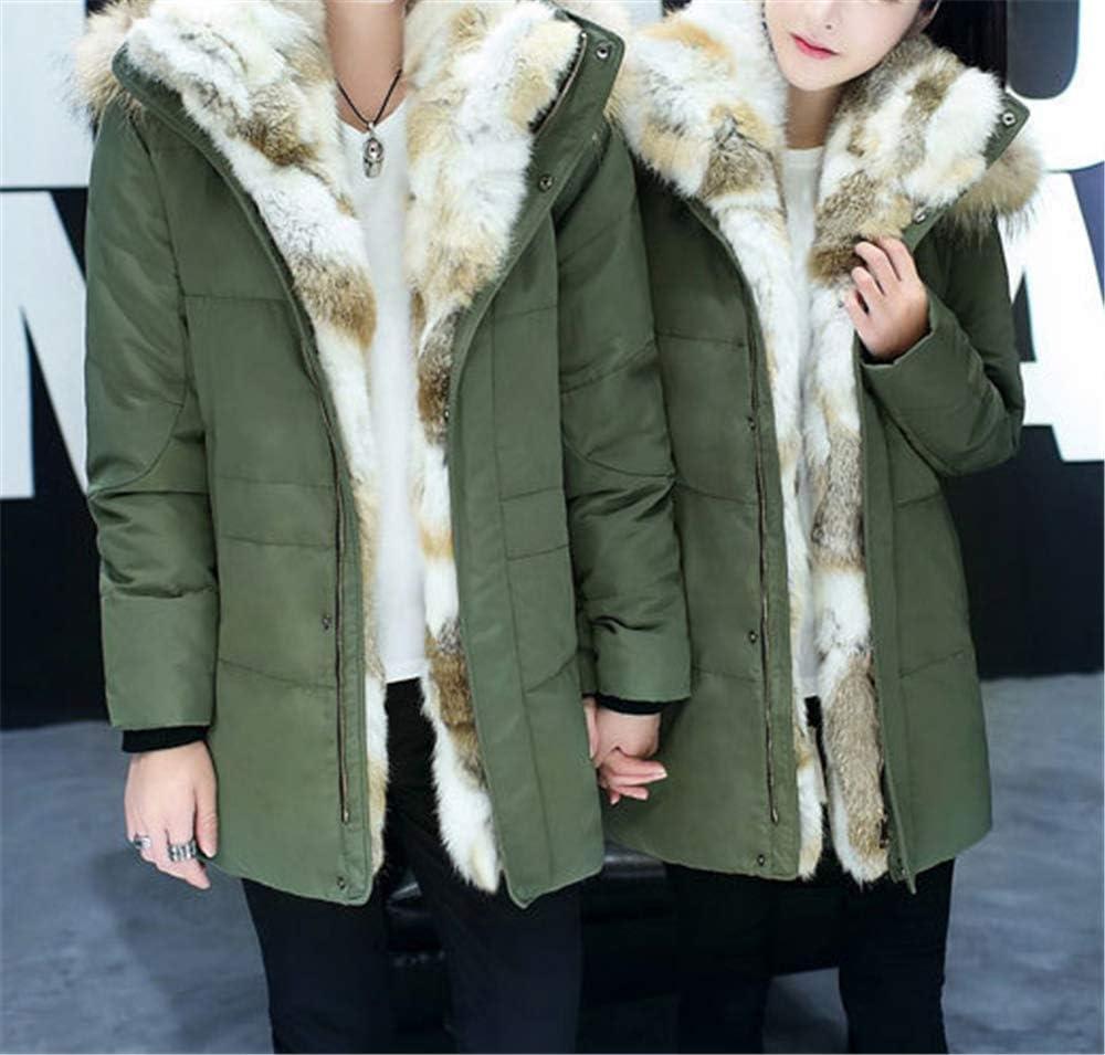 HAIGAFEW Manteau De Plume De Canard Blanc Chaud Long Hiver Veste Femmes Bas Parka Plus Taille Capuche Cap Army Green