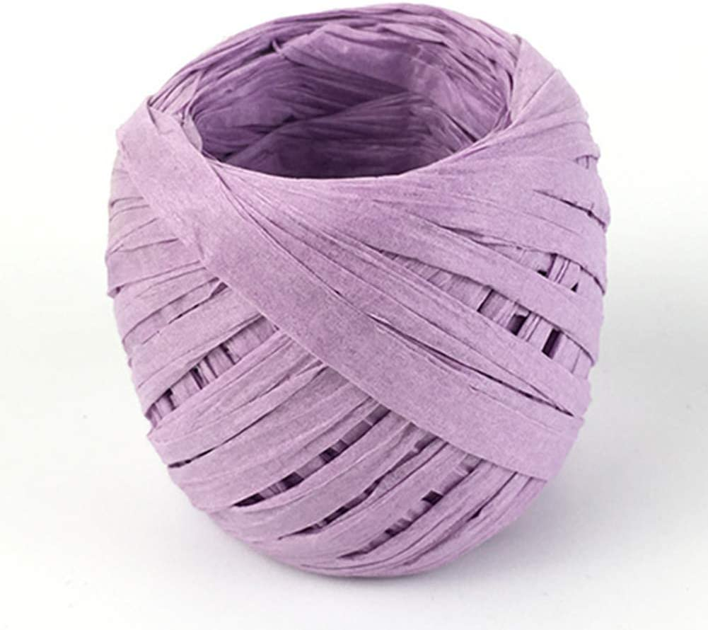 Dark Coffee Ribbon 20m Paper Raffia DIY Decorative Supplies ll Scrapbook Crafts Eco-Friendly Gift Wrapping