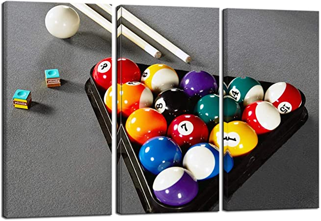 "18/""x24/"" Billiards Give Stick Table Someone Embar Gift Poster"