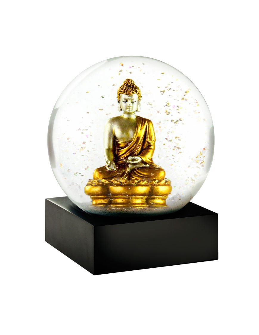 Gold Buddha Statue - Cool Snow Globe By CoolSnowGlobes
