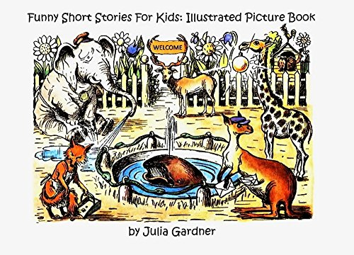 Funny Short Stories For Kids: Illustrated Picture Book: (Old school  children's education, children's book, picture book preschool (ages 3-5),  bedtime