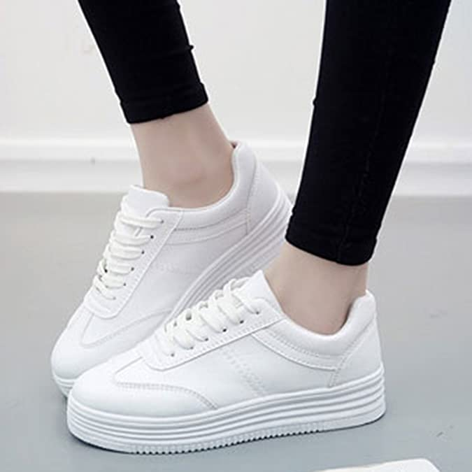 EOZY Zapatos Plataforma Deportivo Casual Para Mujer Rosa Talla 39 hD6saqLtNU