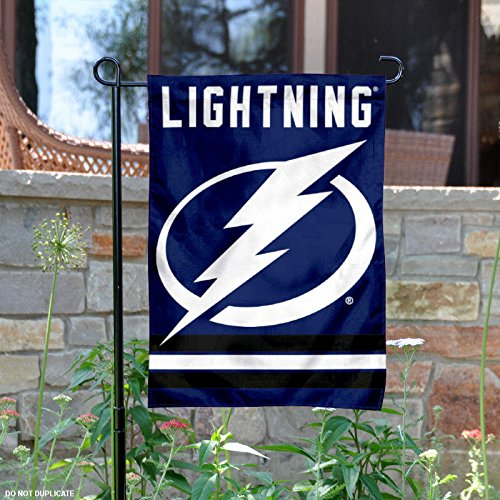 Tampa Bay Lightning Double Sided Garden Flag