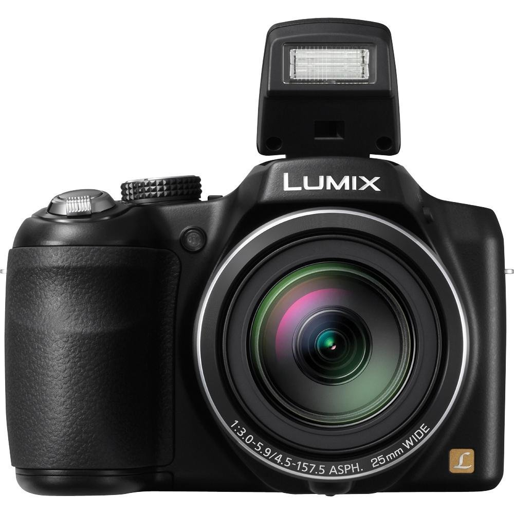 Panasonic Lumix DMC - lz30 16.1 MPデジタルカメラwith 35 x光学イメージStabilizedズームと7.6 CM LCD (ブラック) (認定Refurbished)   B07F481FZT