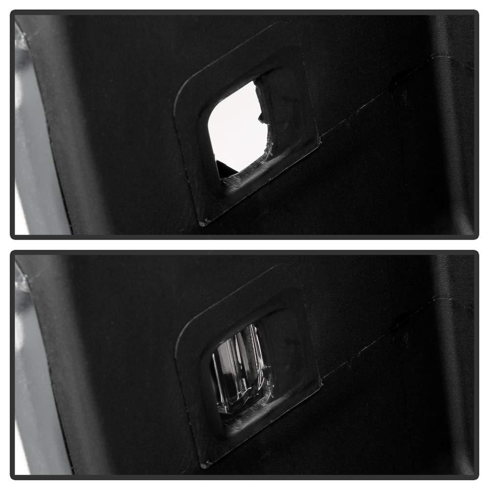 ACANII For 2014-2018 Chevy Silverado//GMC Sierra 1500 Chrome Rear Step Bumper Assembly W//Sensor Holes /& w//Corner Holds
