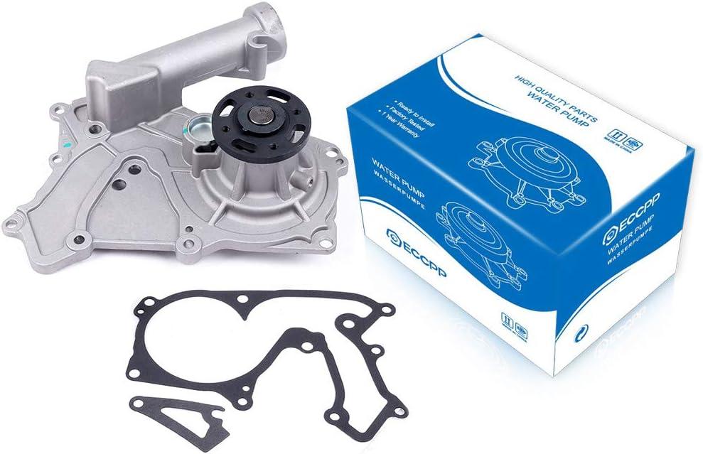 ECCPP Water Pump with Gasket fits for 2006-2011 Hyundai Azera Entourage Genesis Coupe Santa Fe 3.5L 3.8L 3.3L 131-2288 AW6048